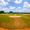 A baseball field in Viñales.
