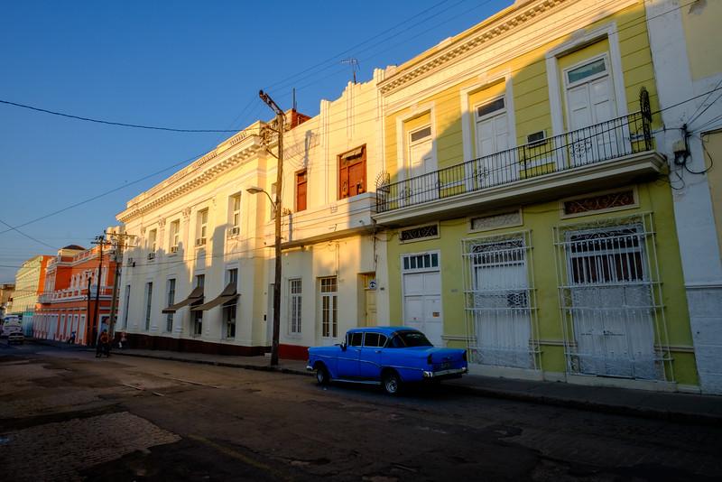 Sunrise in Cienfuegos.