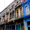 Balconies in Old Havana.