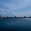 Looking across the bay at Havana from Castillo de los Tres Santos Reyes Magnos del Morro.