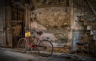 Bicycle in Casa La Guarida