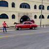 In Old Havana, we took this taxi to Callejón de Hamel in Vedado.