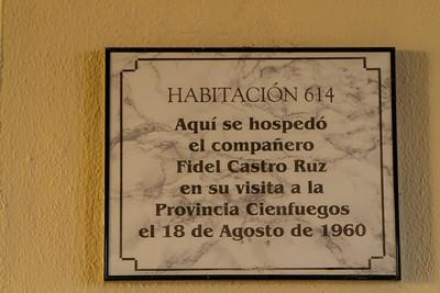 Room 614, Hotel Jagua, Cienfuegos