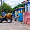 Cement mixer in Viñales.