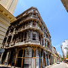 Shoring up the balcony in Old Havana.