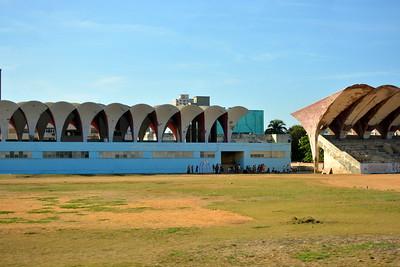 Ballpark in Havana, Cuba