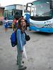Büyük çantayı Havanada bırakmakla çok akıllıca bir iş yaptık. Yanınızda büyük bir valizin  olmaması seyahati inanılmaz kolaylaştırıyor. 17 Gün fotoğrafta görülenler gibi birer sırt çantası ile dolaştık. Hiç bir sorunumuz olmadı. Yaz olması büyük avantaj tabii.
