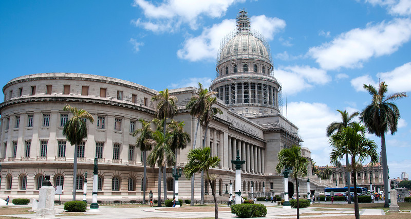 The Capitolio, Cuba's answer to our Capital Building.