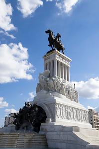 General Maximo Gomez on Horseback