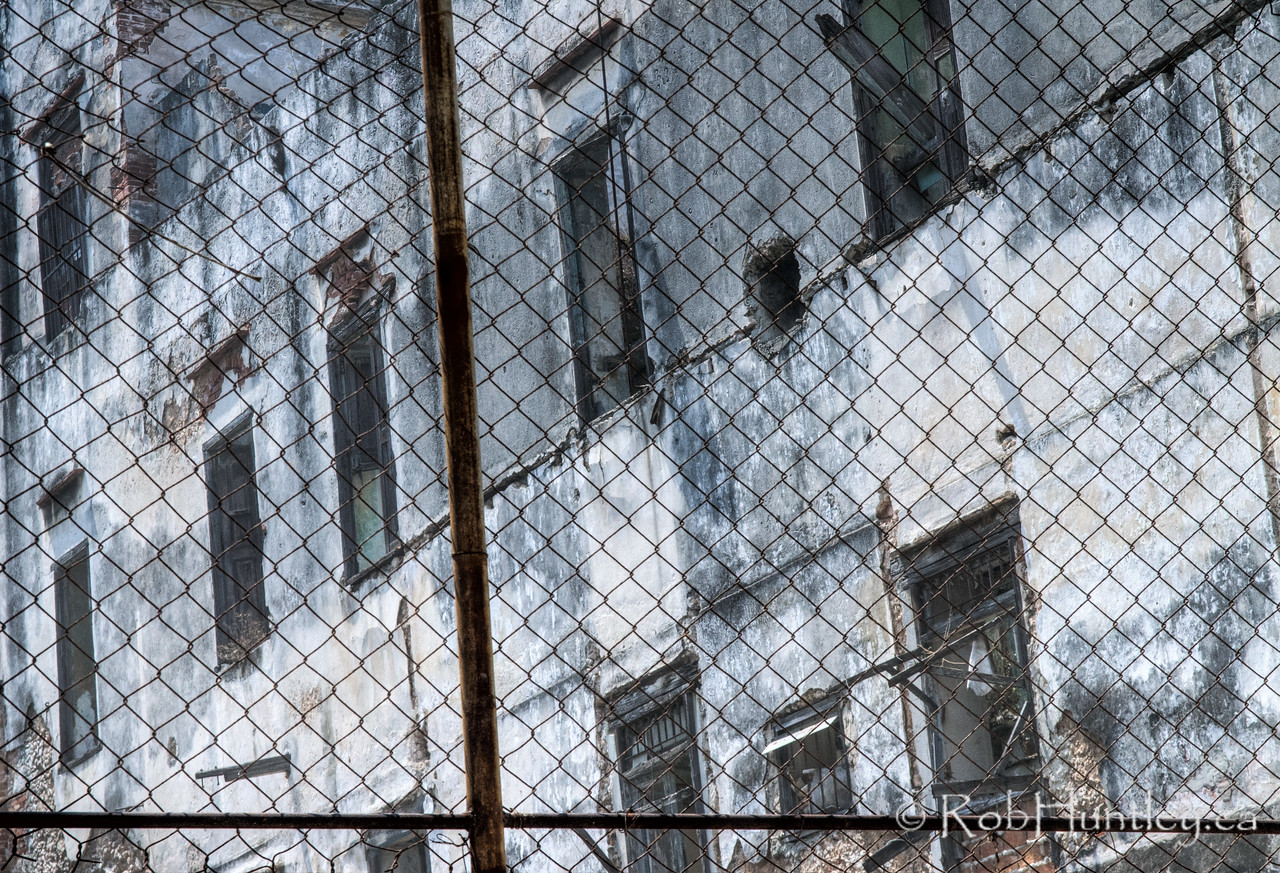 Beyond the Fence. Havana, Cuba.