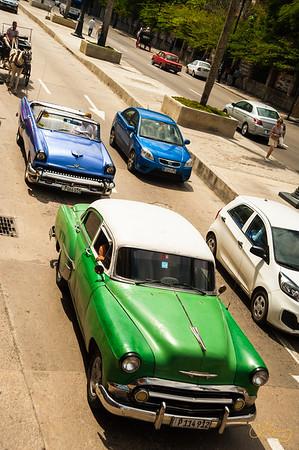 Classic old cars in Havana