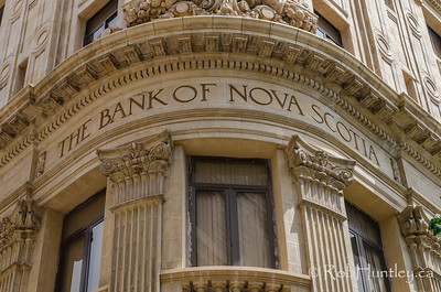 Bank of Nova Scotia building in Havana, Cuba.