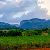 Our view of the Viñales Valley from our rooftop deck at Casa el Porry.