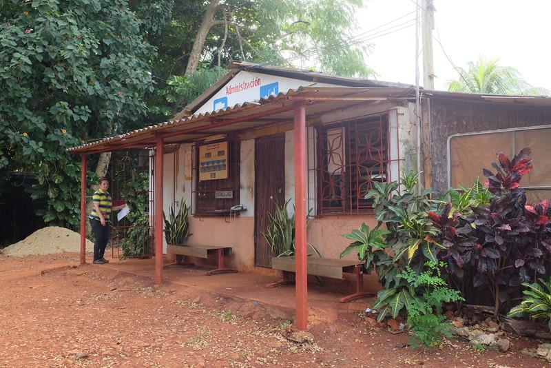 The office. The farm's website is at http://farmcuba.org.
