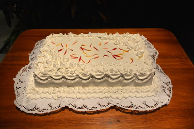 cake @ our final night party at the Melen Club - Havana, Cuba - April 11, 2016