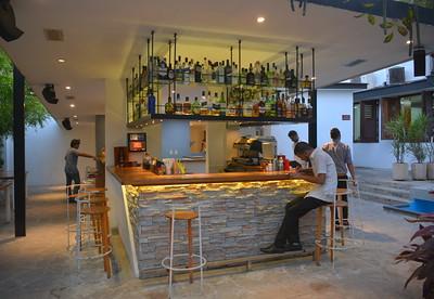 the bar @ our final night party at the Melen Club - Havana, Cuba - April 11, 2016
