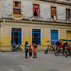 Bici-taxis in Old Havana.