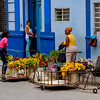 Flowers for sale in Old Havana.