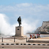 A southernly wind on the Malecon.
