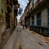 A typical street in Old Havana.