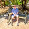 At Parque John Lennon in Vedado.