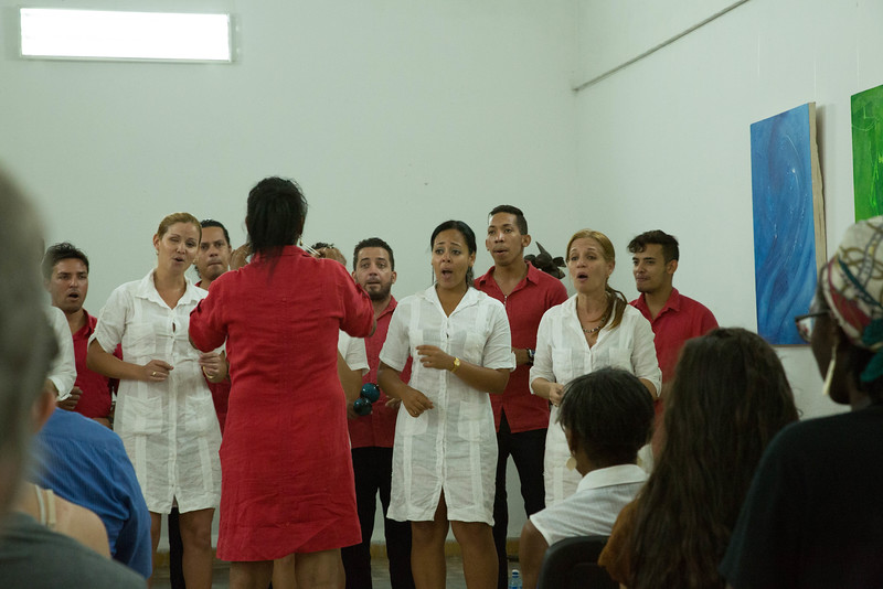 Cuban choir group