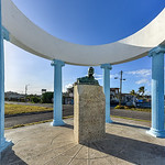 Monument to Ernest Hemingway - Cojimar, Havana, Cuba