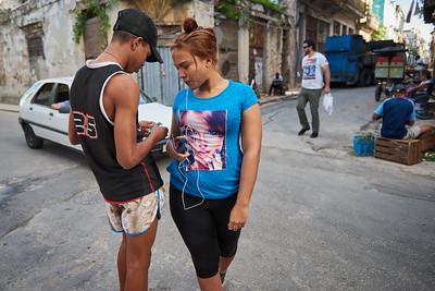 Street life, Old Havana.