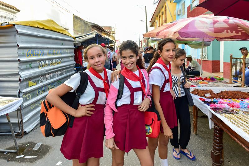 Students - Trinidad, Cuba