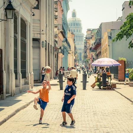 Futbol in Havana