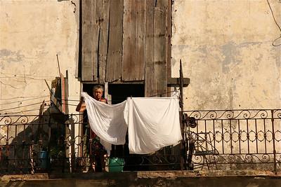 Wasjes. Havana, Cuba.