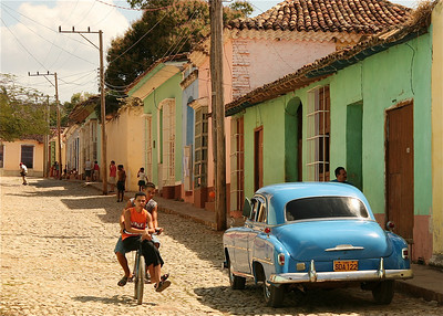 Kleurrijk Trinidad, Cuba.