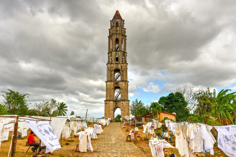 Slave Watch Tower - Manaca Iznaga, Cuba