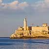 Picturesque view on Havana's Morro Castle, which guards the entrance to sity's harbour