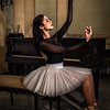 Ballerina and Piano