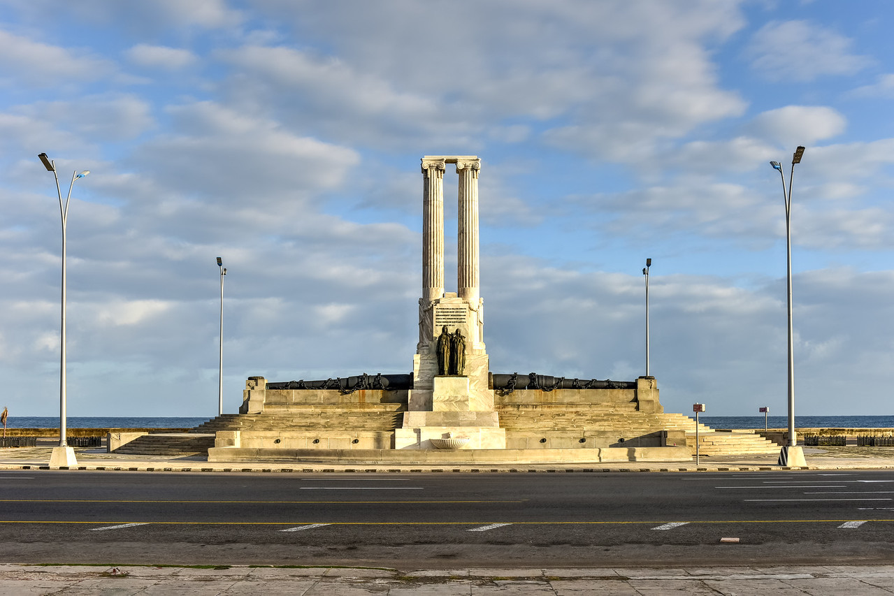 Monument to the USS Maine - Havana, Cuba