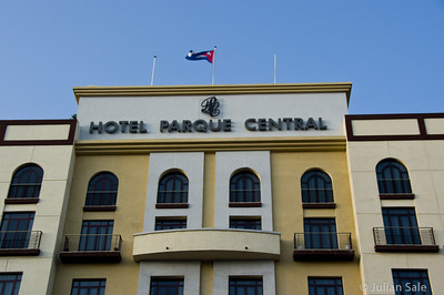 "While in Havana, we stayed at the beautiful ""Hotel Parque Central"" which is across the street from Central Park in old Havana."
