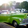 Classic car on the streets of Old Havana. Cuba.