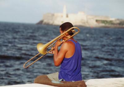 """Trombone Player, Havana 2003"""