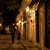 Old Havana night scene
