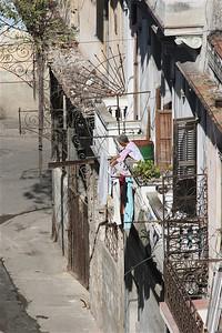 Ook wasjes in Cuba.