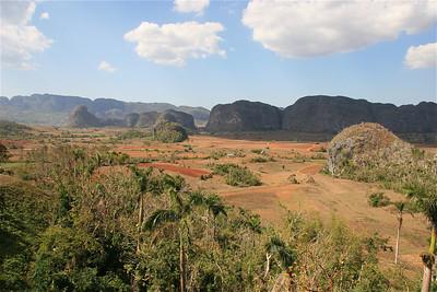 De mogotes van Valle de Vinales. Cuba.