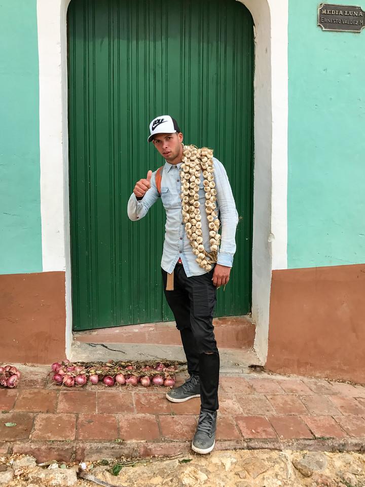 Garlic Salesman - Trinidad, Cuba