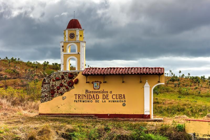 Sign - Trinidad, Cuba