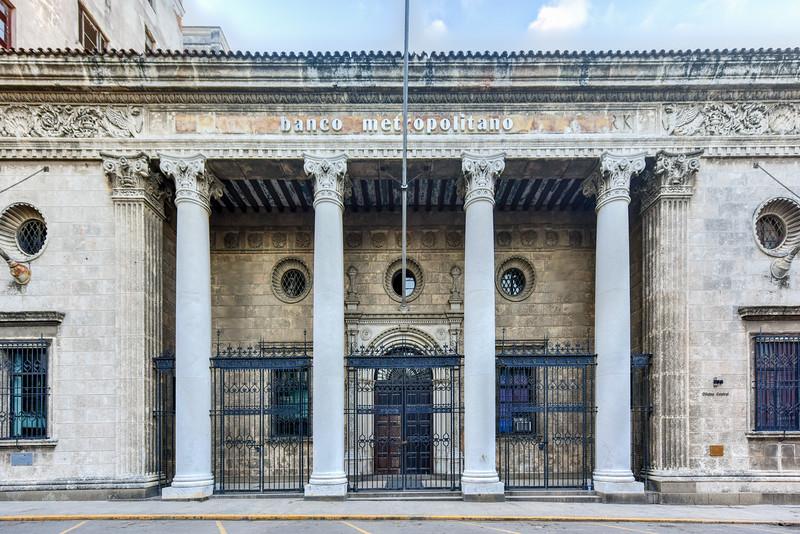 Metropolitan Bank - Havana, Cuba