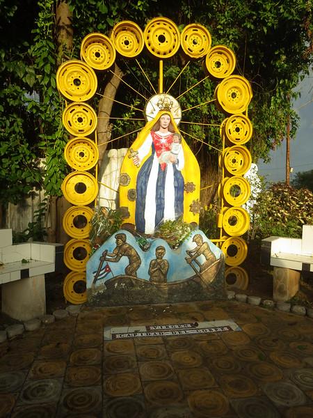 Cuban shrine