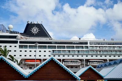 Cruise ship in Montego Bay, Jamaica.