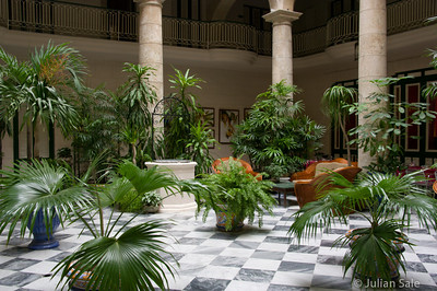 Some courtyards were magnificent, mostly in modernized hotels.