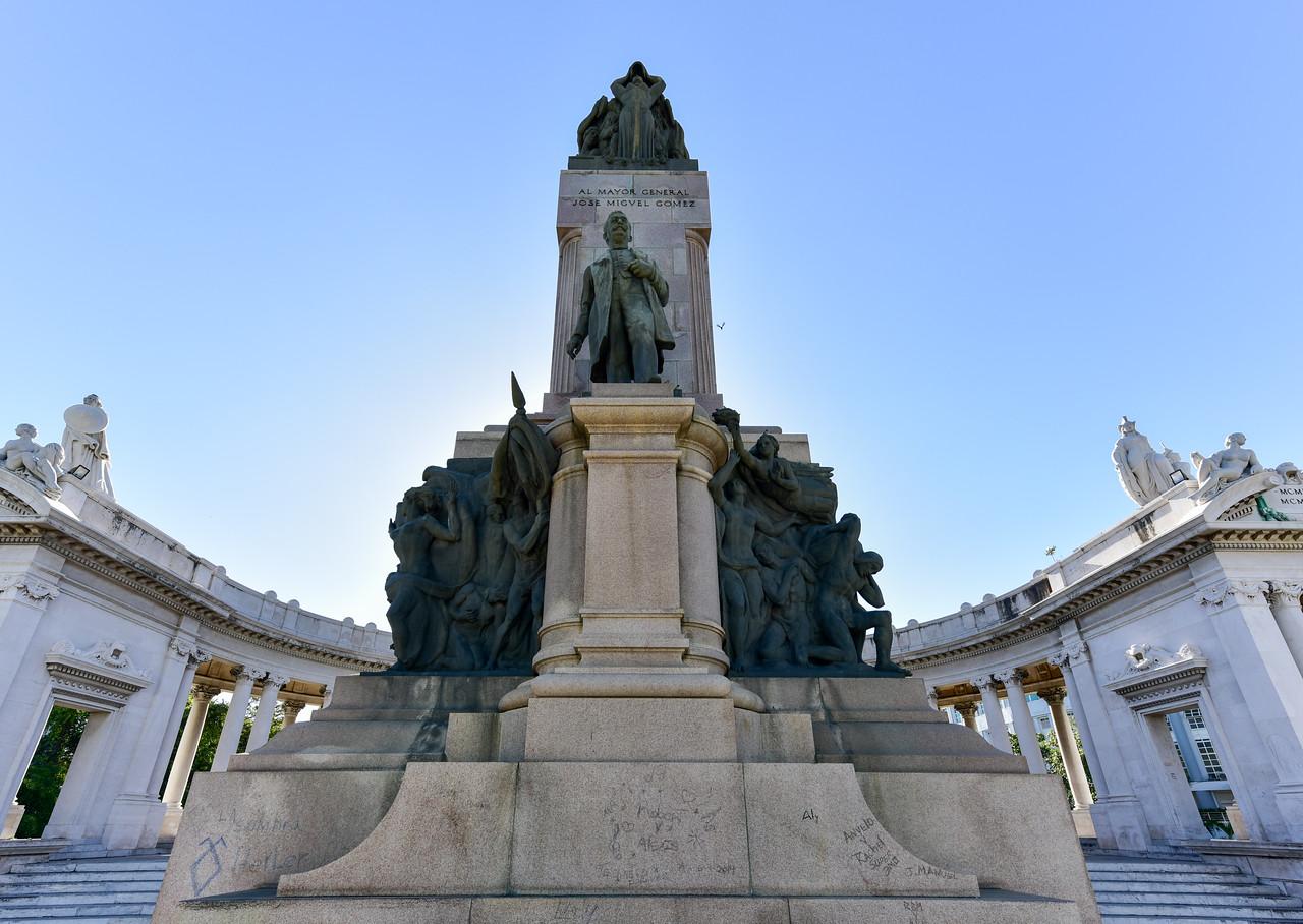 Monument to Jose Miguel Gomez - Havana, Cuba