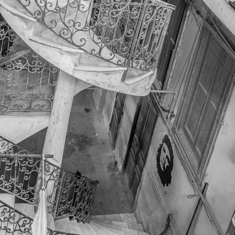 Cuba Monochrome